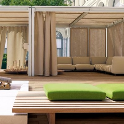 Lounge hangulat a teraszon