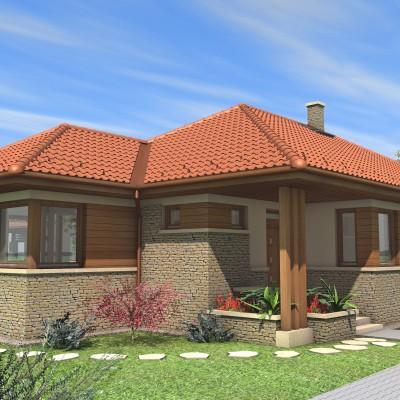 Egyszintes családi ház 178 m2