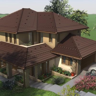 Emeletes családi ház 202 m2