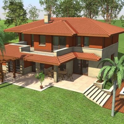 Emeletes családi ház 237 m2