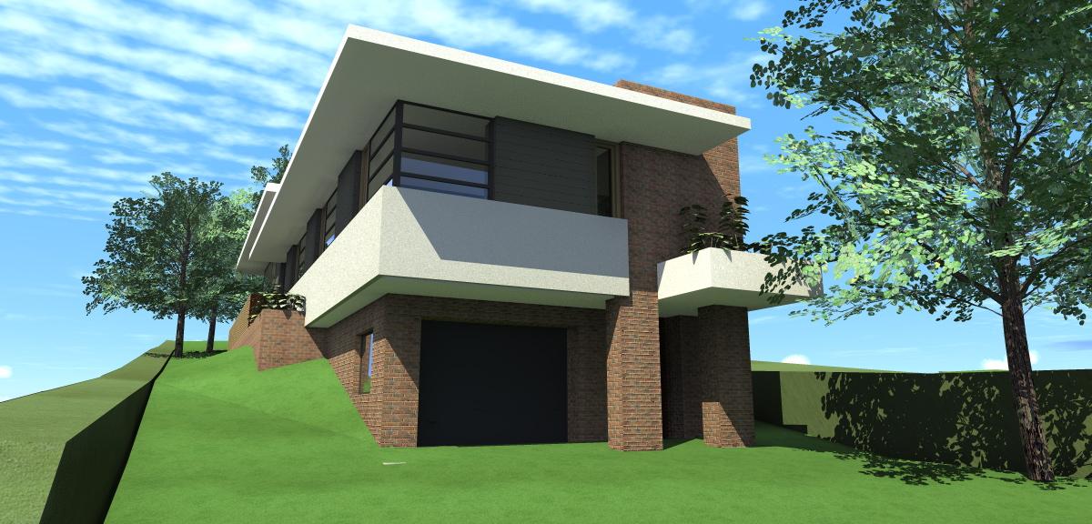 Kétszintes családi ház 161 m2
