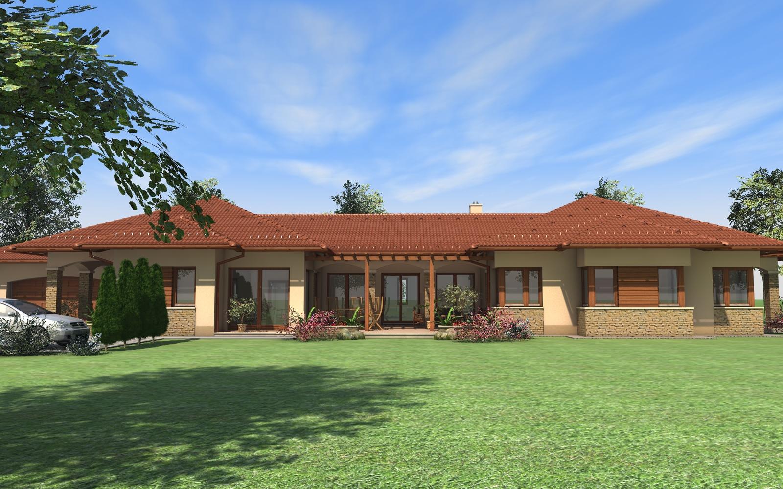 Egyszintes családi ház 281 m2