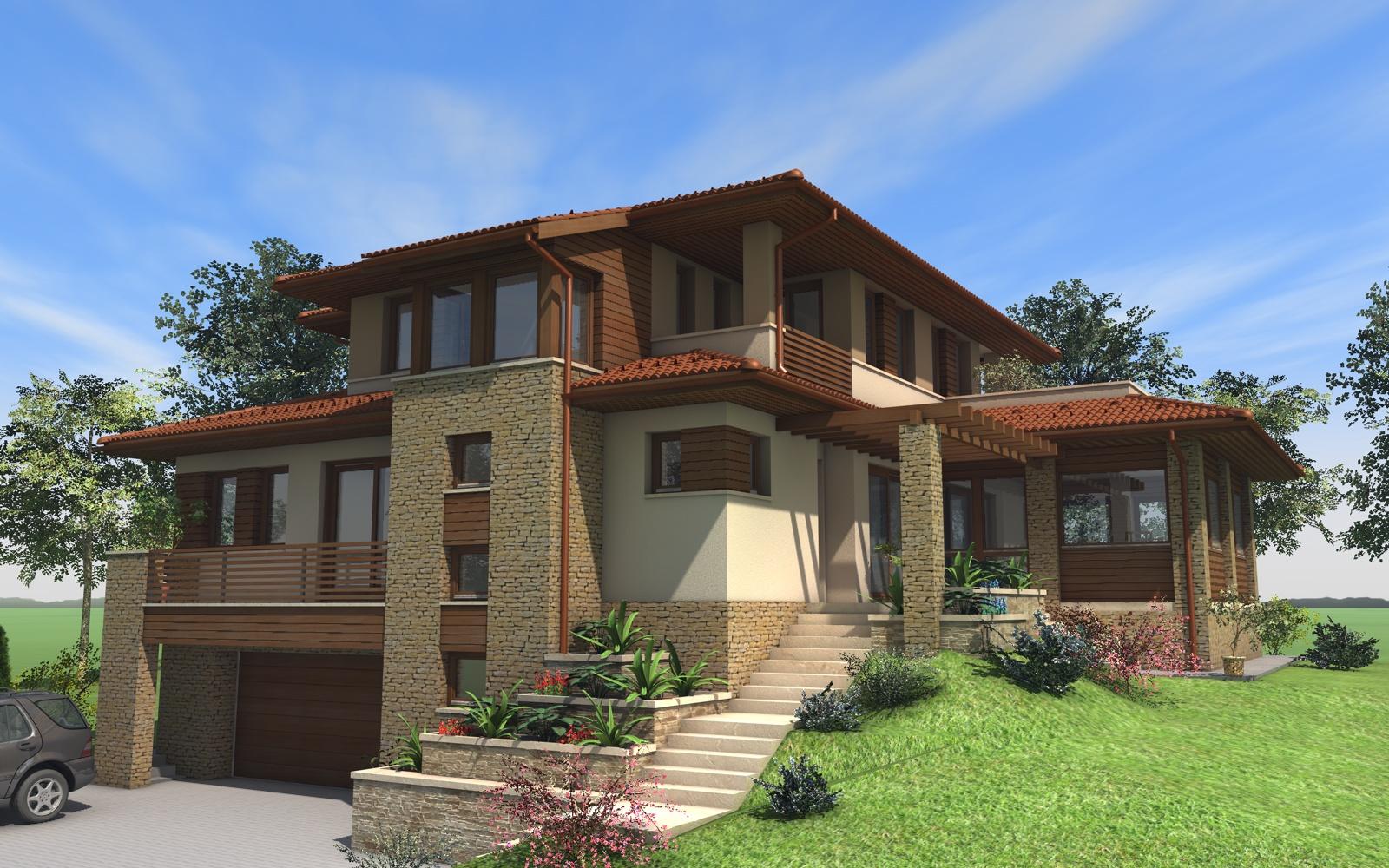 Emeletes családi ház 400 m2