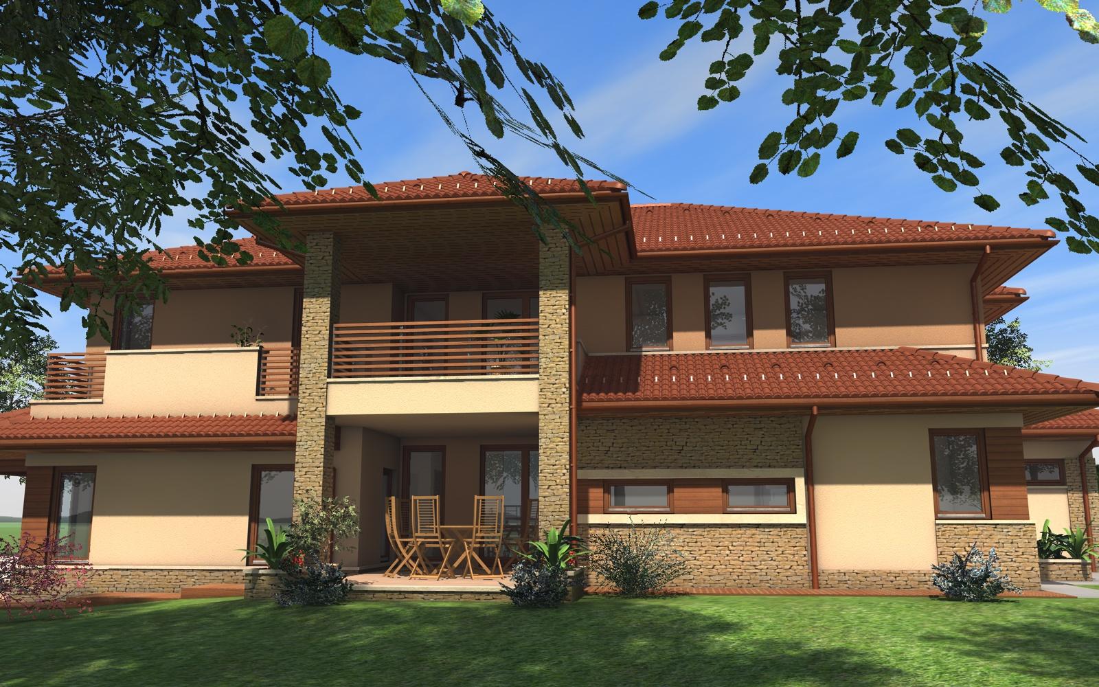 Emeletes családi ház 303 m2