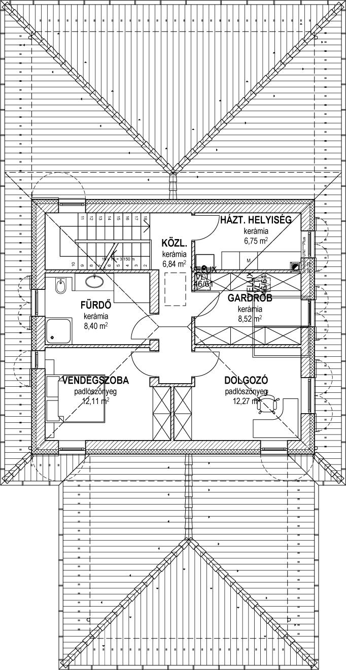 Emeletes családi ház 197 m2