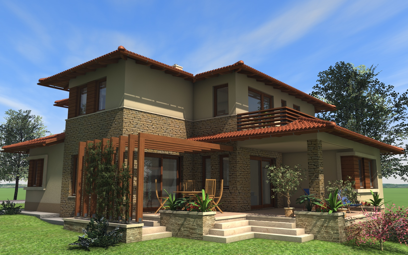 Emeletes családi ház 227 m2