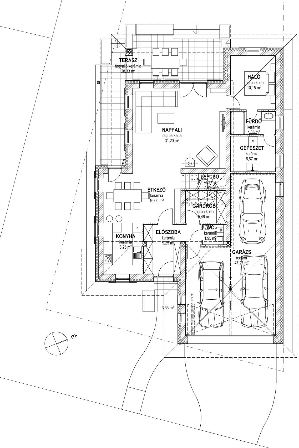 Emeletes családi ház 201 m2