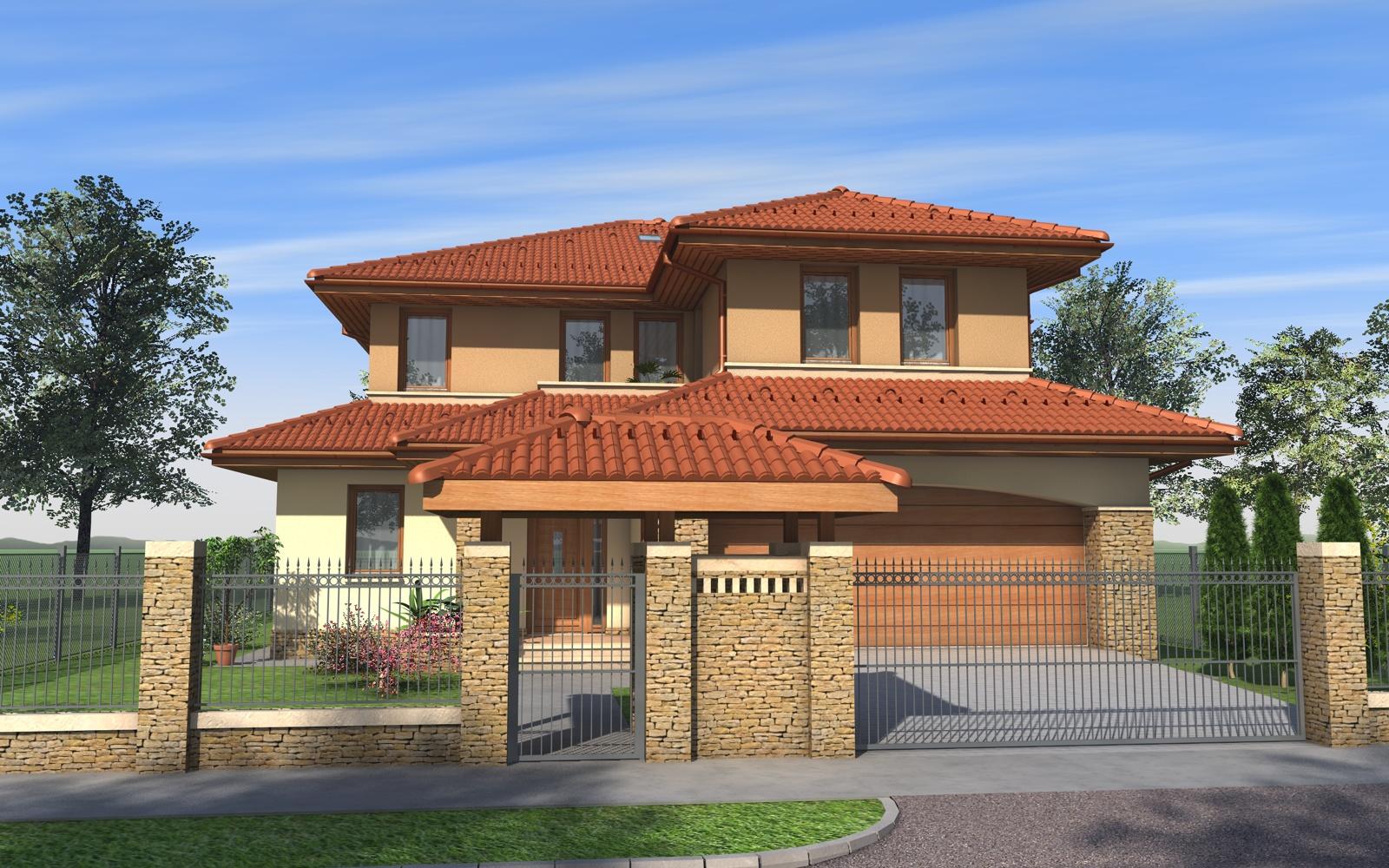 Emeletes családi ház 323 m2