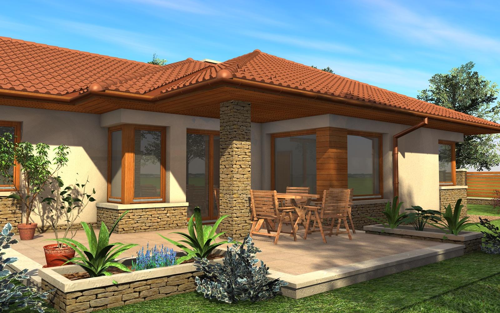 Egyszintes családi ház 167 m2