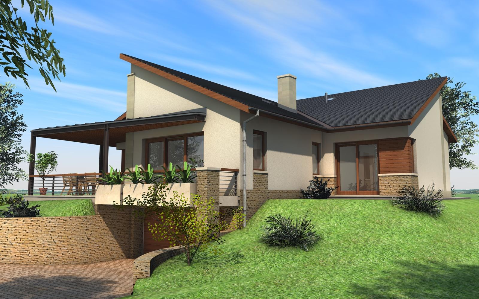 Kétszintes családi ház 237 m2