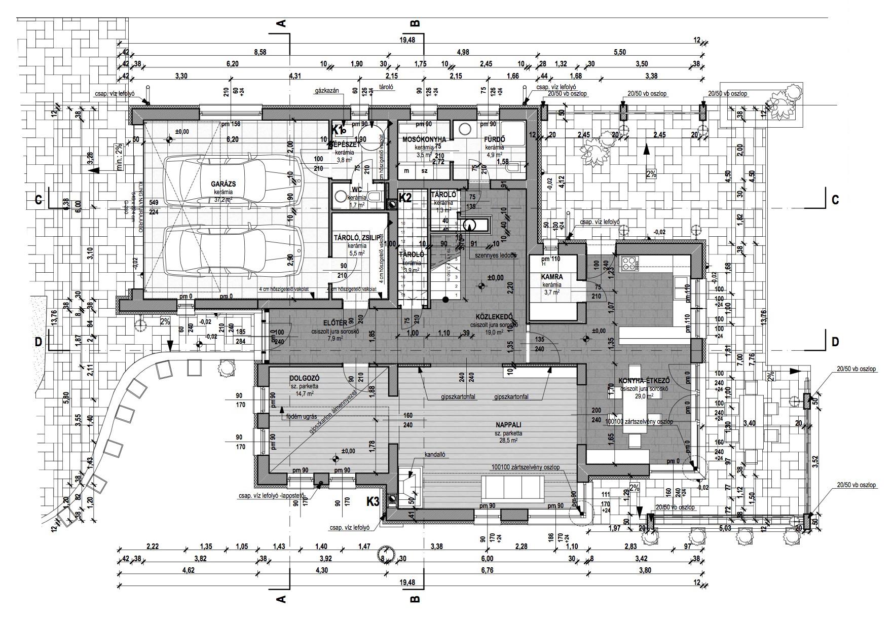 Emeletes családi ház 255 m2