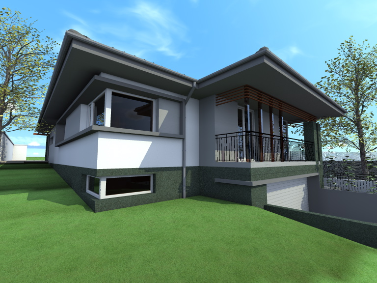 Kétszintes családi ház 282 m2