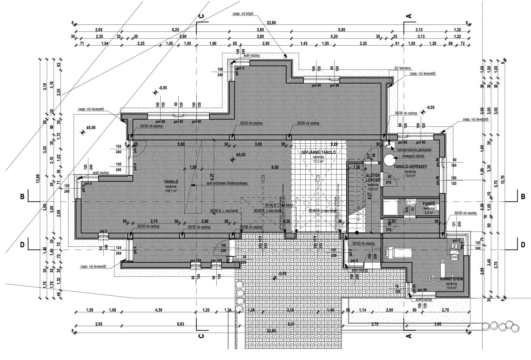 Emeletes családi ház 263 m2