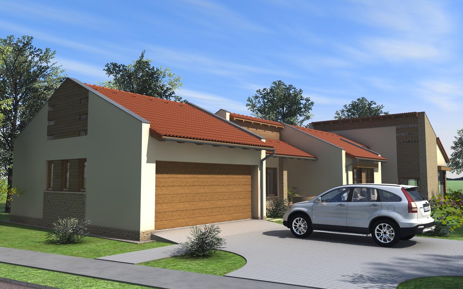 Egyszintes családi ház 190 m2