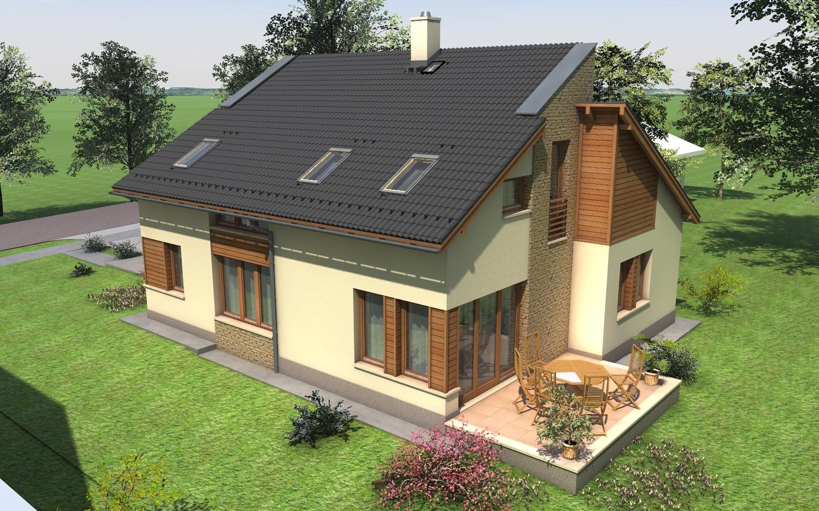 Emeletes családi ház 177 m2