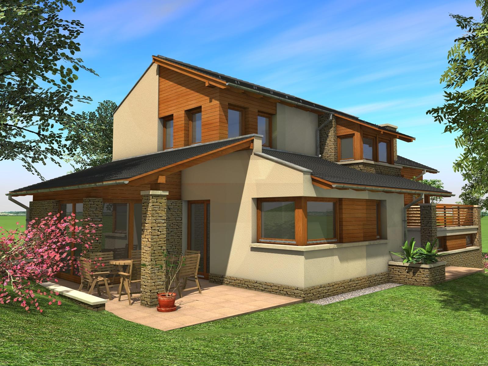 Emeletes családi ház 182 m2