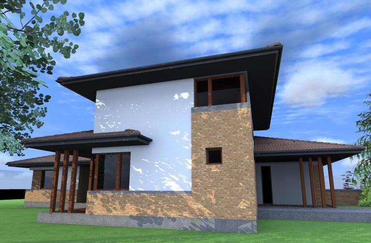 Emeletes családi ház 192 m2