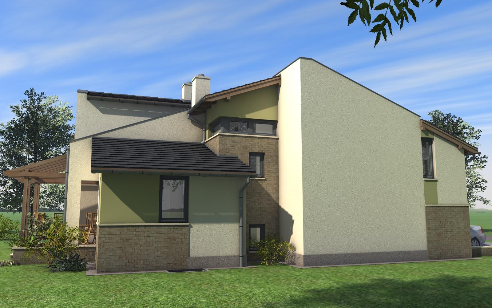 Emeletes családi ház 262 m2