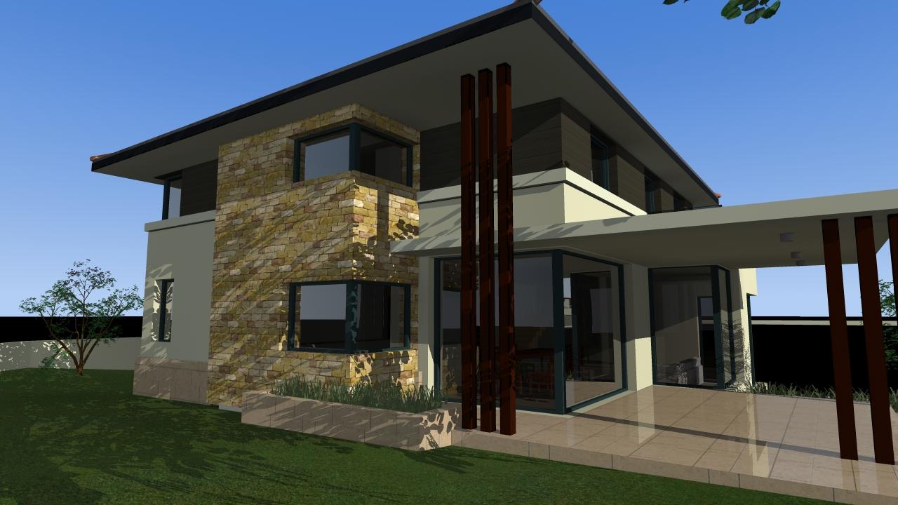 Emeletes családi ház 195 m2