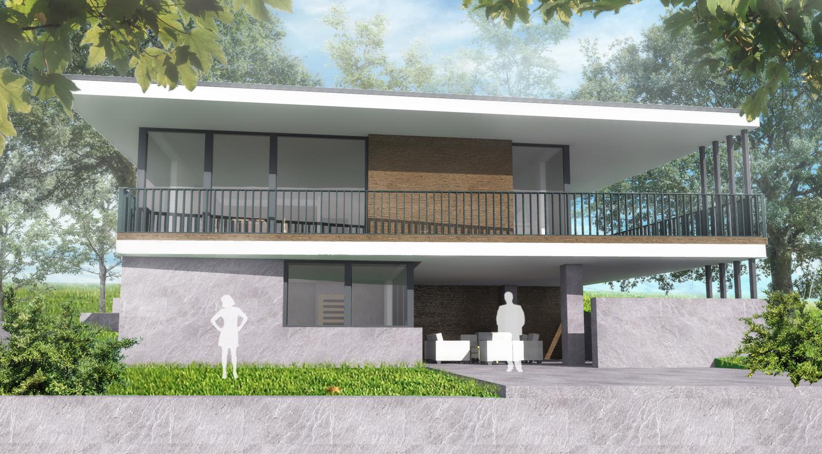 Kétszintes családi ház 204 m2